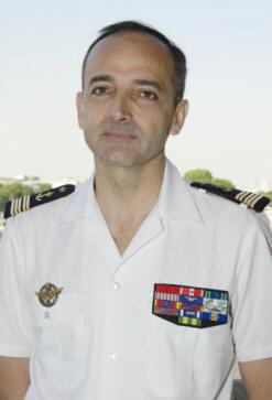 Le patron du SIRPA Marine au poste ALINDIEN